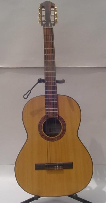 Classical Guitar Mahogany back side Spruce top kamagong
