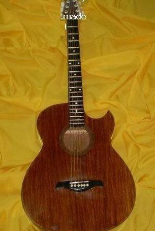 Standard Acoustic Guitar Cut away Semi Ovation Narra Ply Boyzen Finish