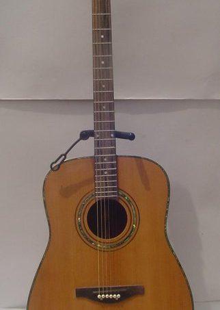 Standard Acoustic Guitar Mahogany Back n Side Spruce top Boyzen Finish Kamagong Finger Board w MOP inlay