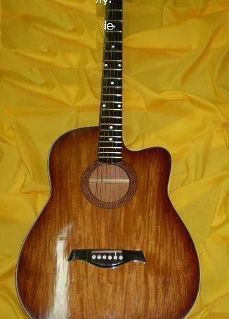 Standard Acoustic Guitar Cut away Narra Ply Ord. Finish