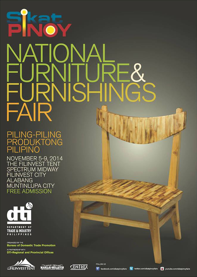 Sikat Pinoy National Furniture and Furnishings Fair 2014 - Exhibit Photo
